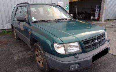 Rare : pièces détachées pour SUBARU FORESTER 1997 2.0 essence
